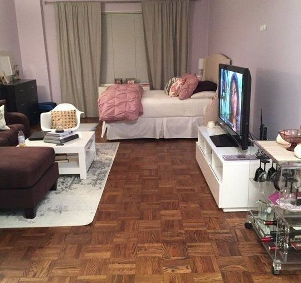 The Best Studio Apartment Layout Design Ideas 33