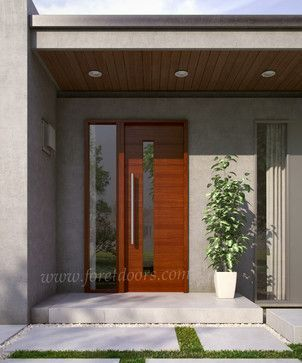 Amazing Modern Door Design Ideas 27