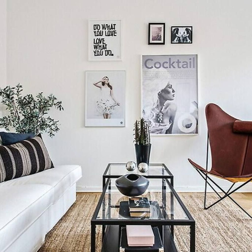Amazing Scandinavian Living Room Decor Ideas 16