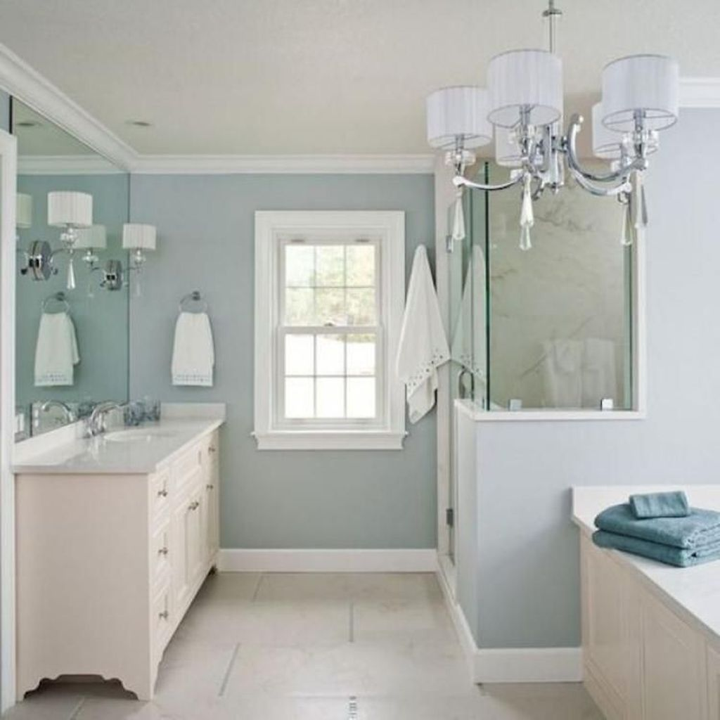 Awesome Coastal Style Bathroom Decorating Ideas 06