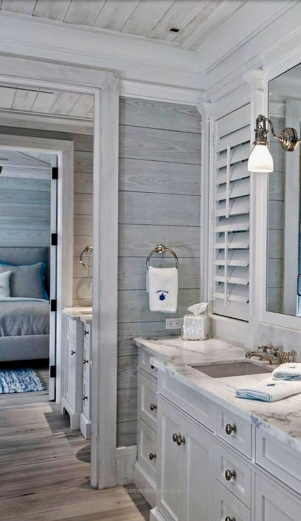 Awesome Coastal Style Bathroom Decorating Ideas 12