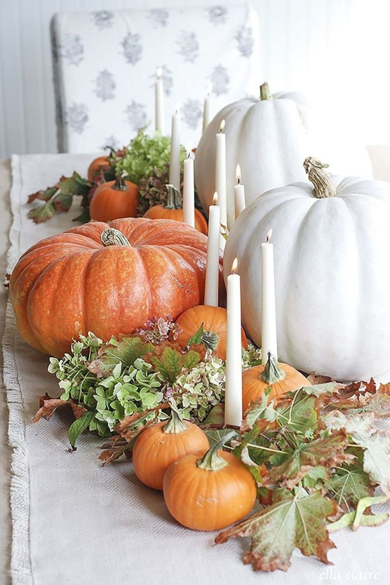 Awesome Fall Table Decorations Ideas You Should Apply This Year 23