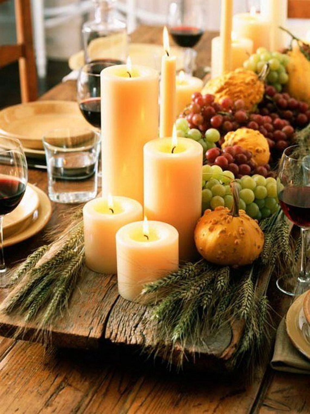 Awesome Fall Table Decorations Ideas You Should Apply This Year 24