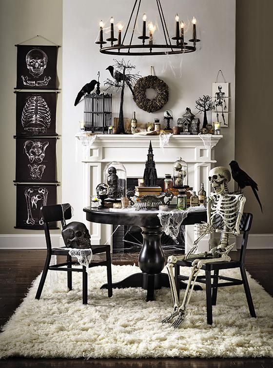 Awesome Spooky Halloweeen Home Decoration Ideas 15