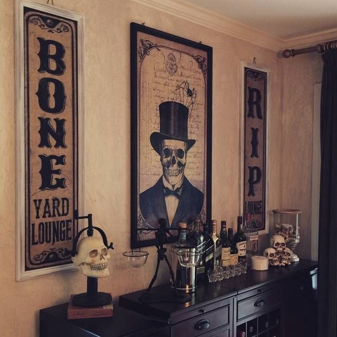 Awesome Spooky Halloweeen Home Decoration Ideas 18