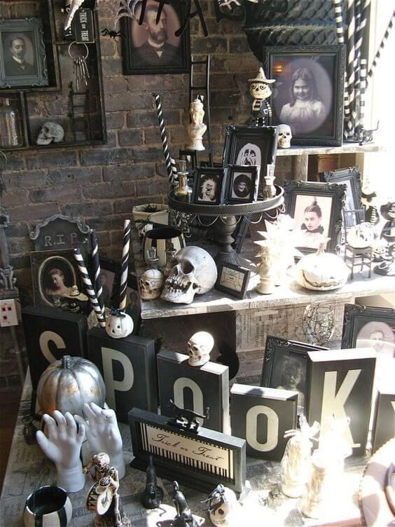 Awesome Spooky Halloweeen Home Decoration Ideas 32