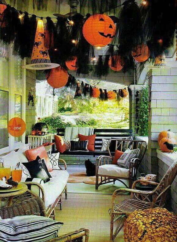 Awesome Spooky Halloweeen Home Decoration Ideas 35