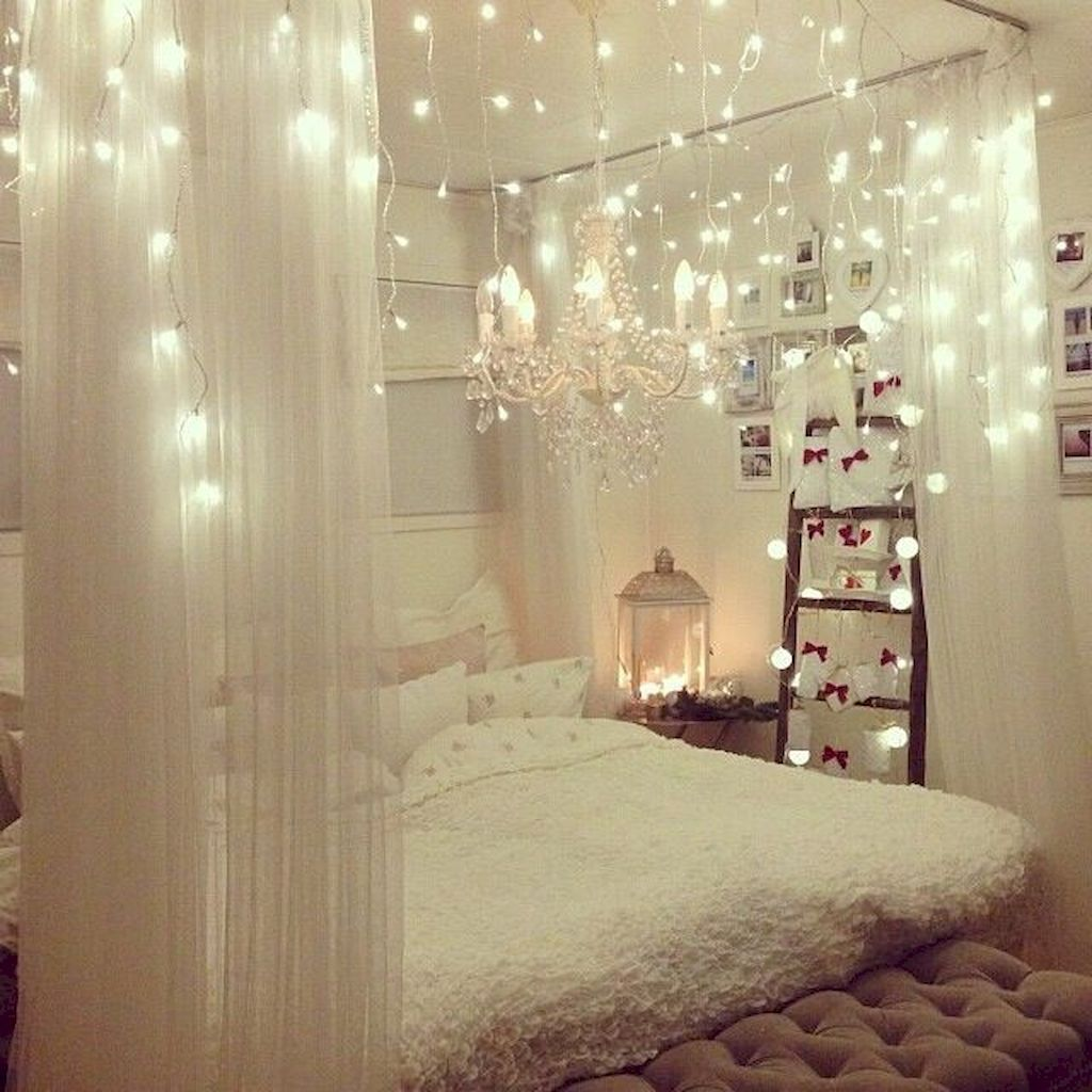 Beautiful Romantic Bedroom Lighting Ideas 05