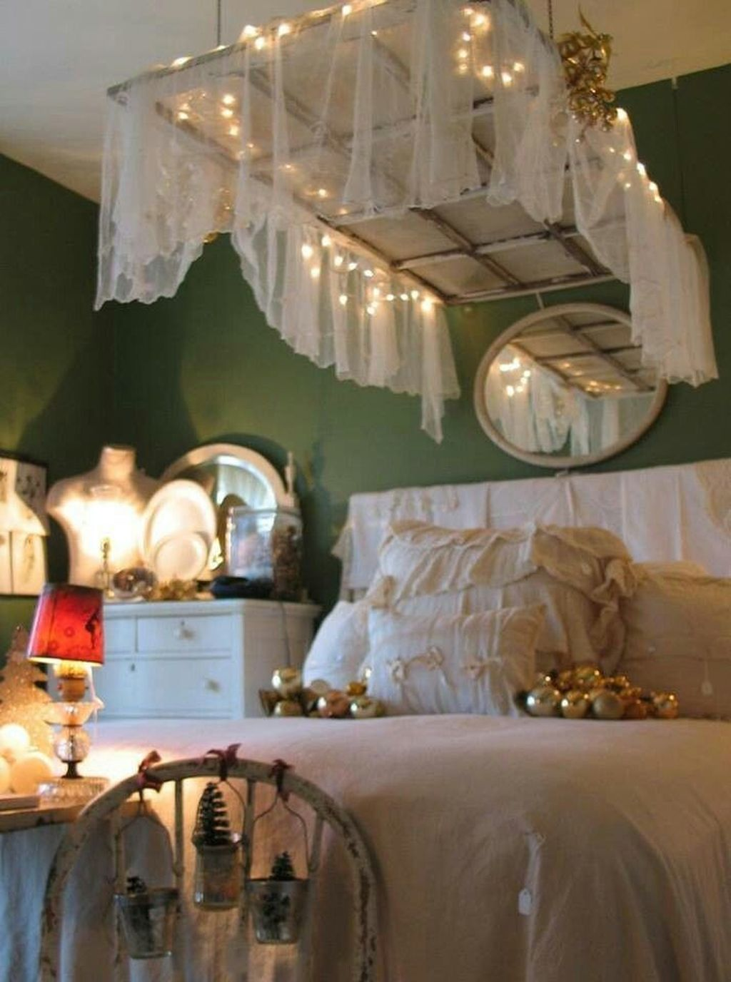 Beautiful Romantic Bedroom Lighting Ideas 20