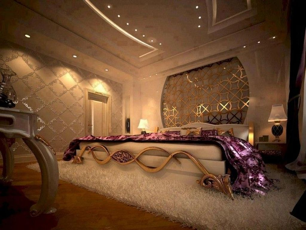 Beautiful Romantic Bedroom Lighting Ideas 21