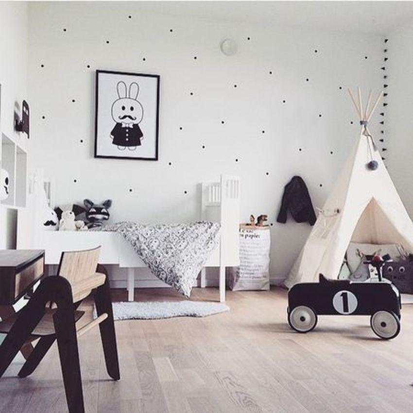 Cozy Scandinavian Kids Bedroom Design Ideas 29