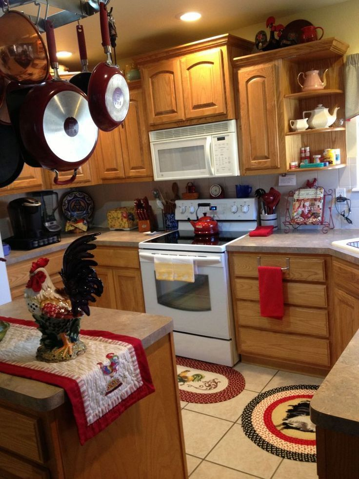 Fabulous Rooster Kitchen Decor Ideas 03