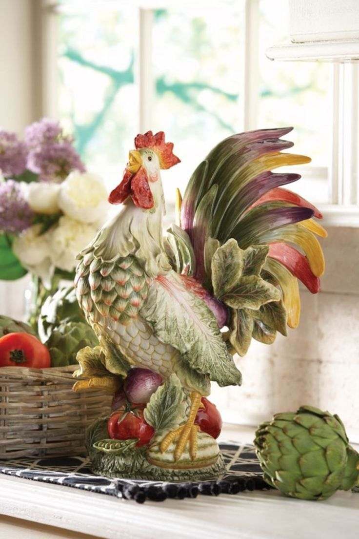 Fabulous Rooster Kitchen Decor Ideas 08