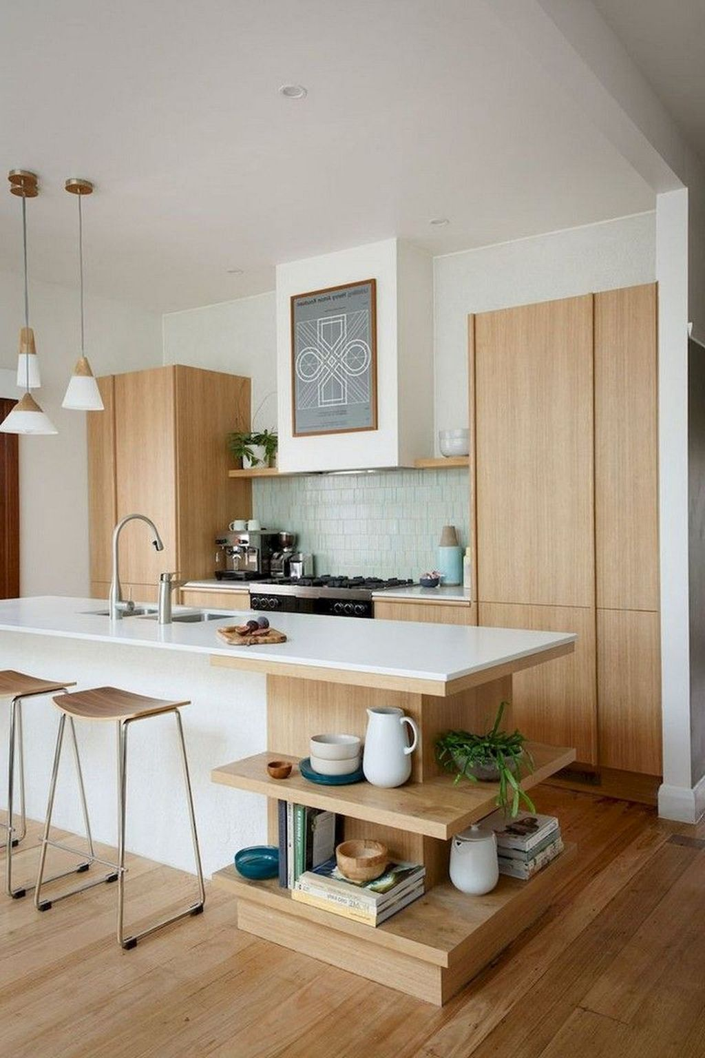 Gorgeous Modern Kitchen Design Ideas 16
