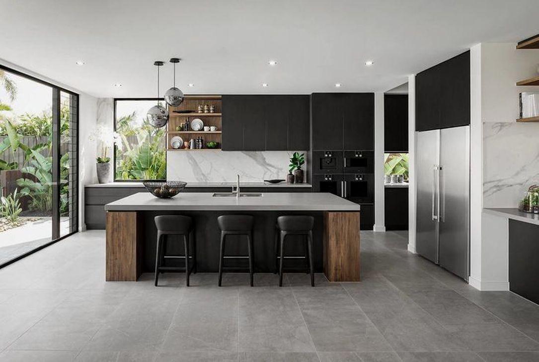 Gorgeous Modern Kitchen Design Ideas 32
