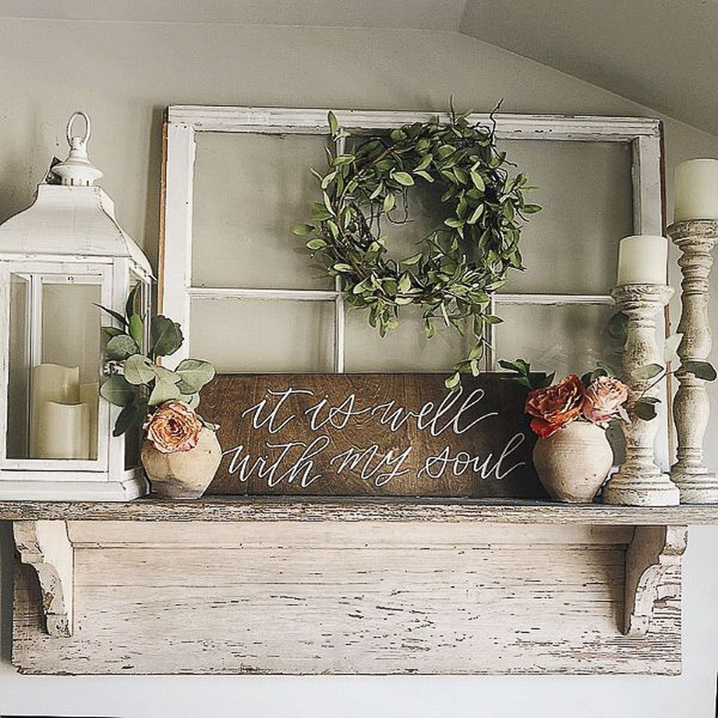 Inspiring DIY Farmhouse Home Decor Ideas 02