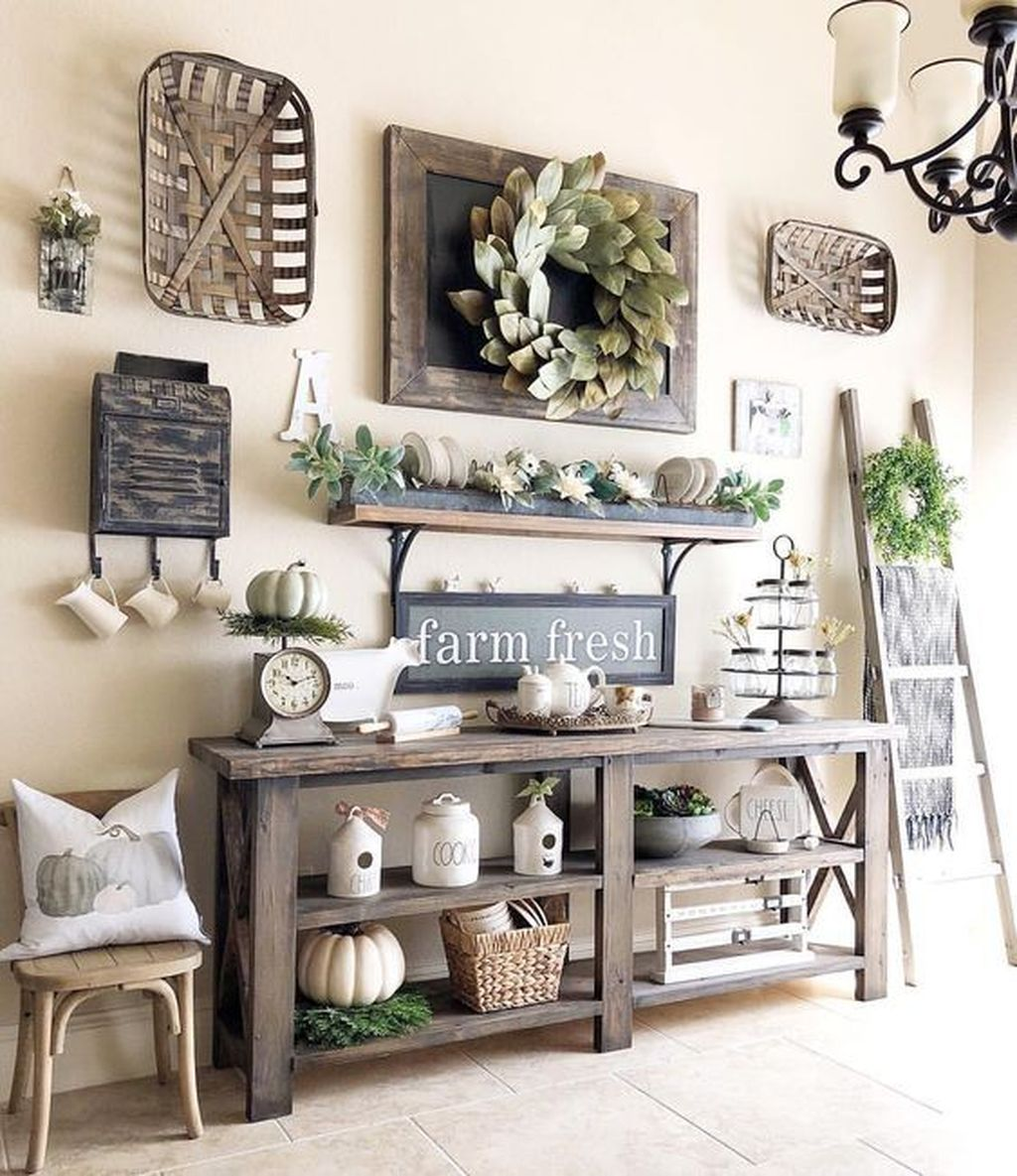 Inspiring DIY Farmhouse Home Decor Ideas 06