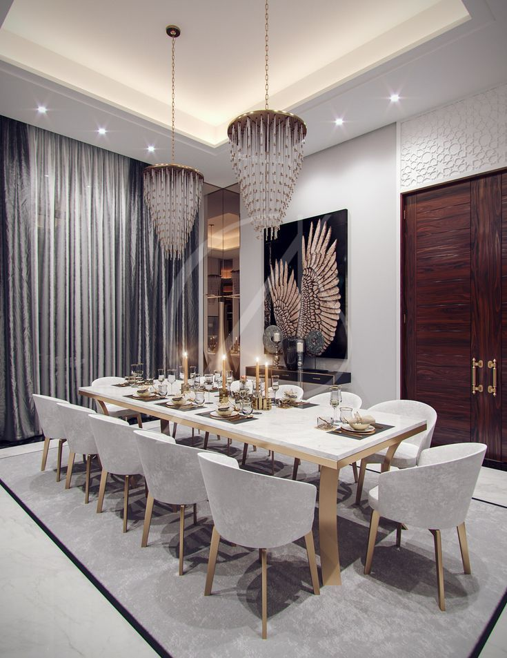 Inspiring Dining Room Design Ideas 24