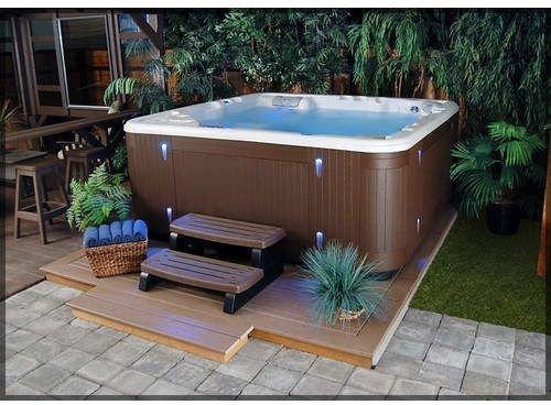 Inspiring Hot Tub Patio Design Ideas For Your Outdoor Decor 06