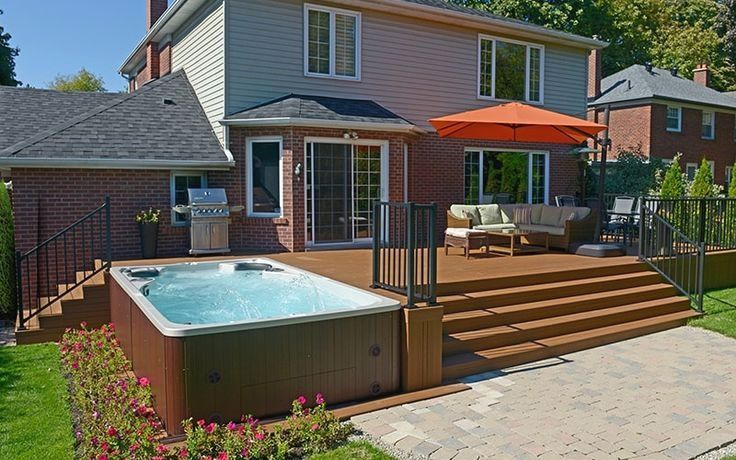 Inspiring Hot Tub Patio Design Ideas For Your Outdoor Decor 10