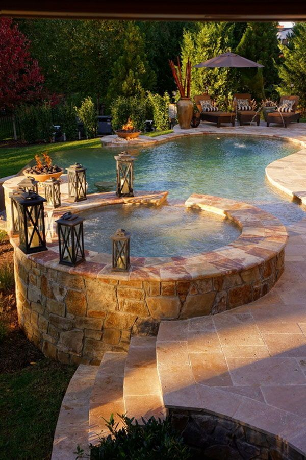 Inspiring Hot Tub Patio Design Ideas For Your Outdoor Decor 15