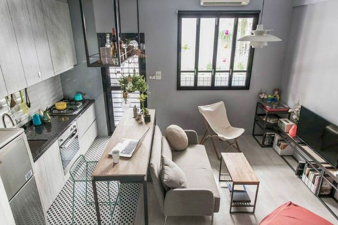 Inspiring Small Apartment Decoration Ideas 23