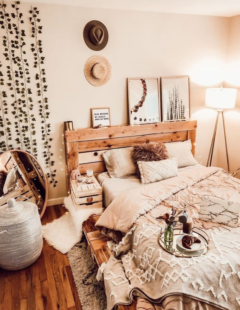 Lovely Fall Bedroom Decor Ideas That Will Popular This Year 23