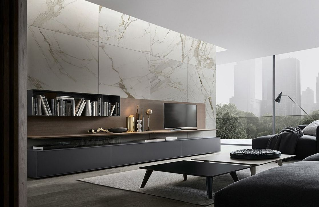 Luxury Living Room Design Ideas With Modern Accent 01