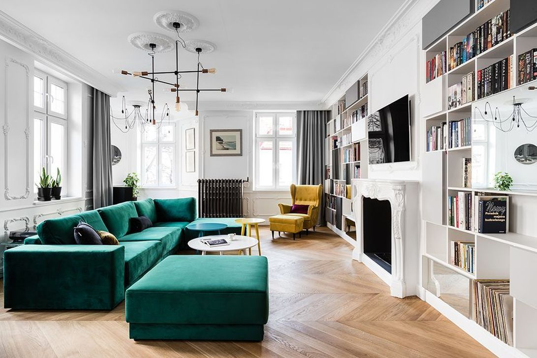 Luxury Living Room Design Ideas With Modern Accent 04