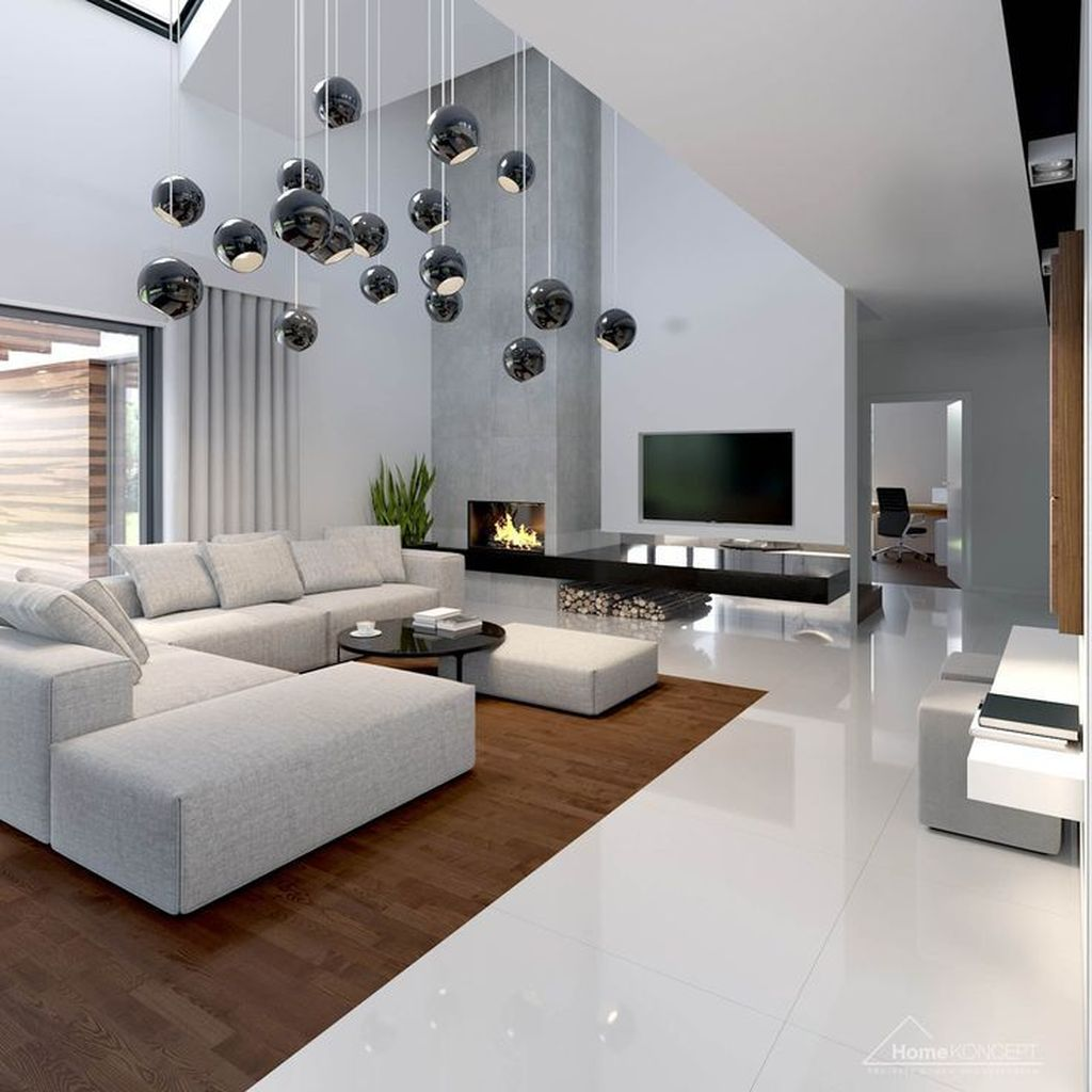 Luxury Living Room Design Ideas With Modern Accent 06