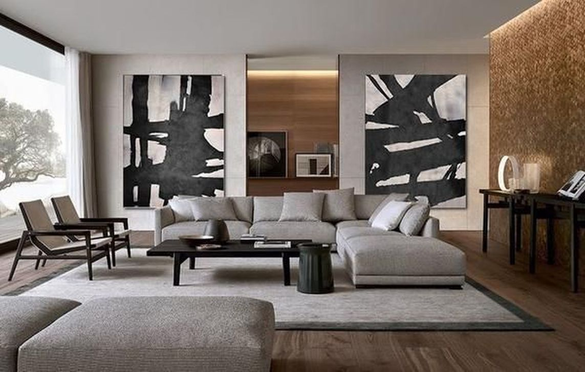 Luxury Living Room Design Ideas With Modern Accent 23