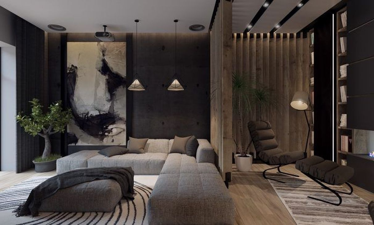 Luxury Living Room Design Ideas With Modern Accent 24