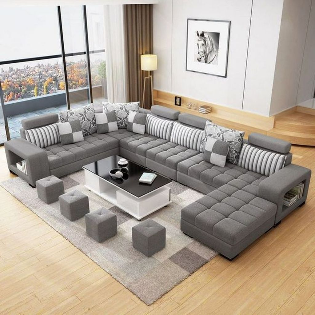 Luxury Living Room Design Ideas With Modern Accent 36