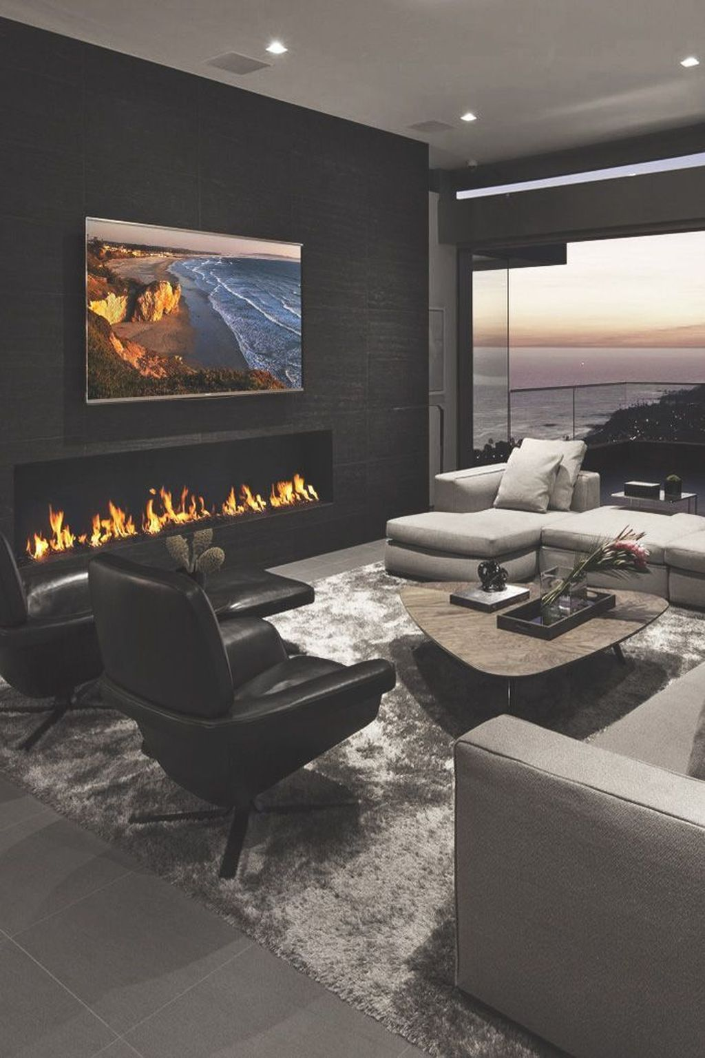 Luxury Living Room Design Ideas With Modern Accent 40