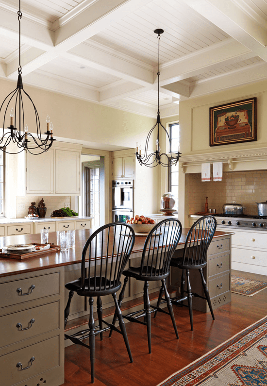 Nice Colonial Kitchen Decoration Ideas 02