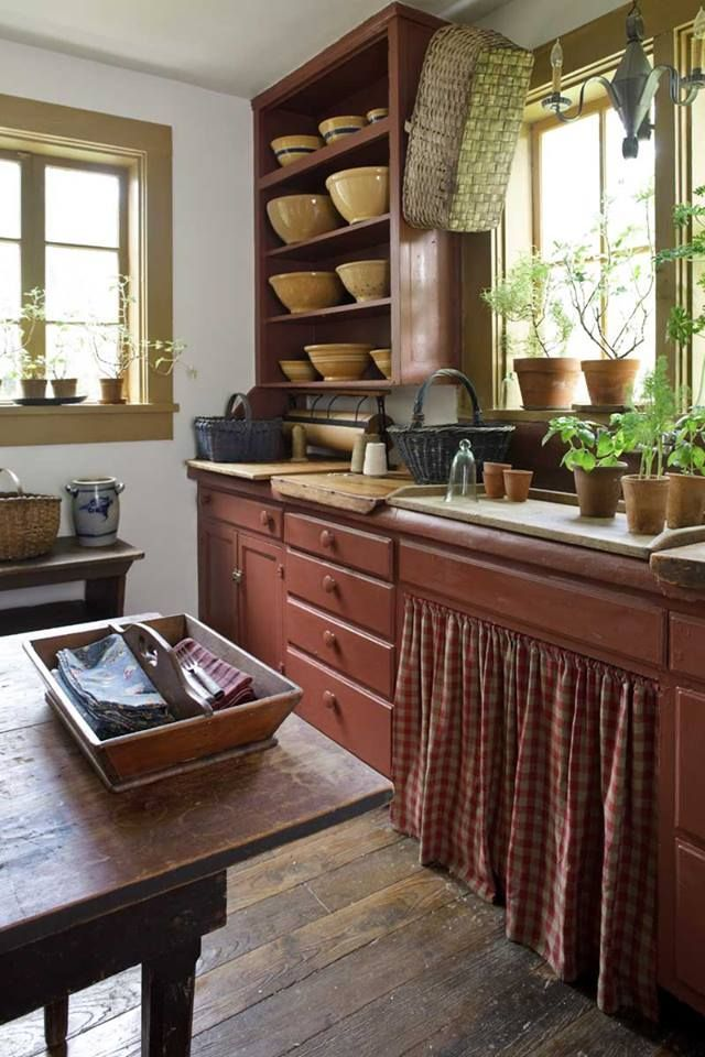 Nice Colonial Kitchen Decoration Ideas 26