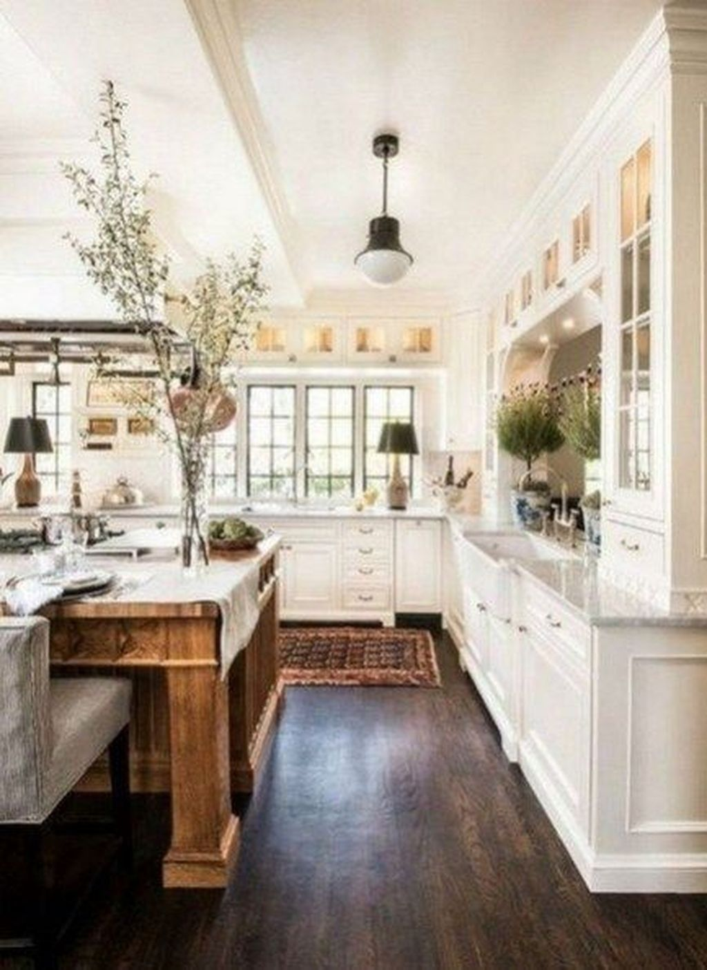 Popular White Kitchen Design Ideas 05