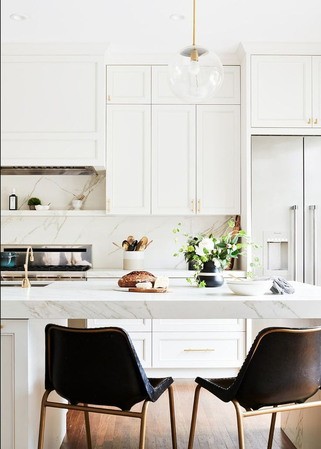 Popular White Kitchen Design Ideas 36