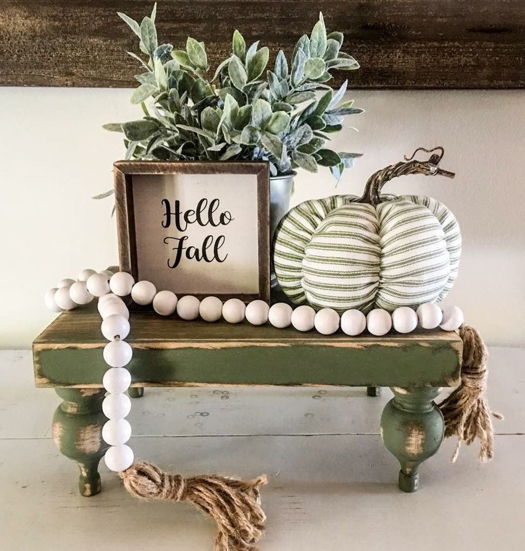 Stunning DIY Fall Home Decor Ideas 16