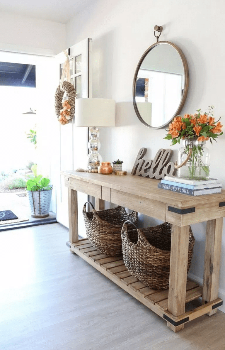 Stunning Foyer Decorating Ideas 25