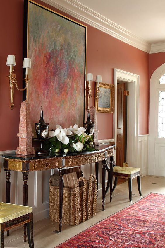 Stunning Foyer Decorating Ideas 33