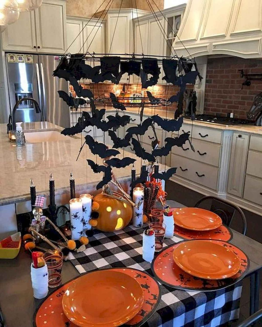 Stunning Halloween Kitchen Decor Ideas 05