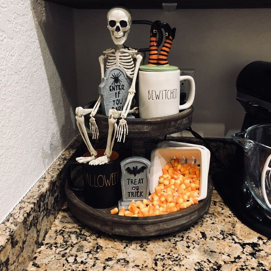 Stunning Halloween Kitchen Decor Ideas 11