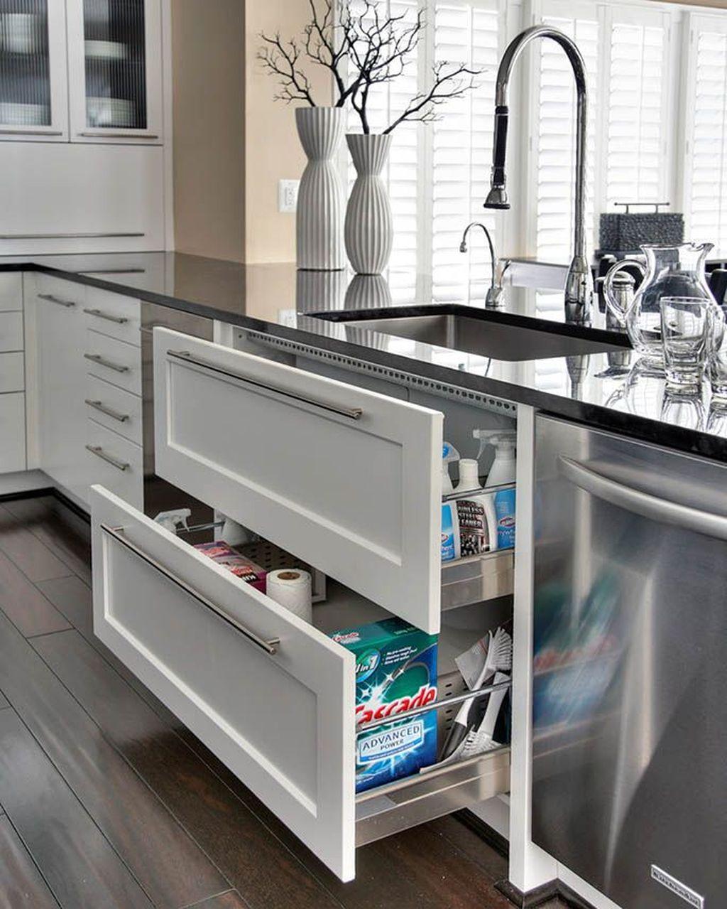 Stunning Kitchen Cabinets Ideas 23