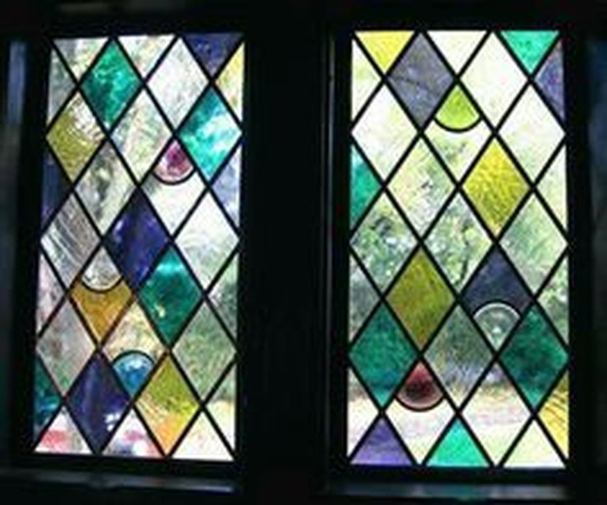 Stunning Leaded Glass Windows Design Ideas 02