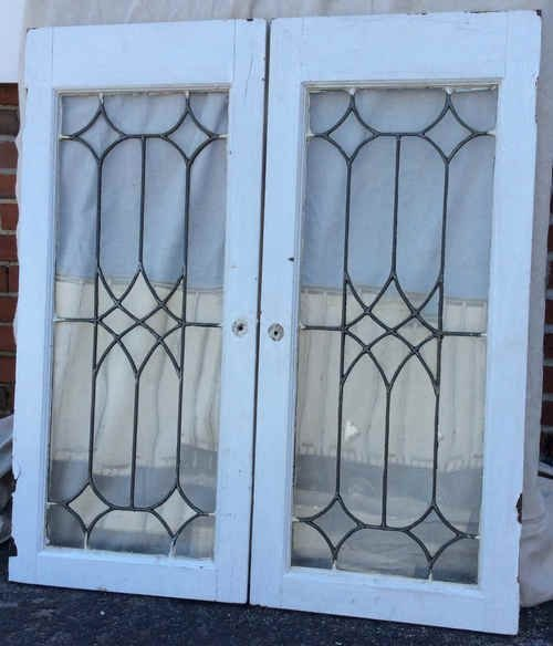 Stunning Leaded Glass Windows Design Ideas 04