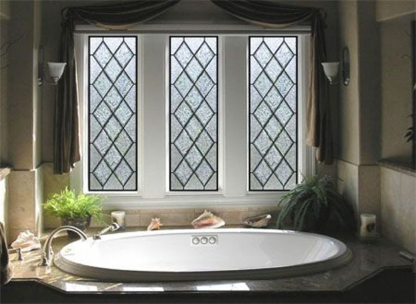 Stunning Leaded Glass Windows Design Ideas 10
