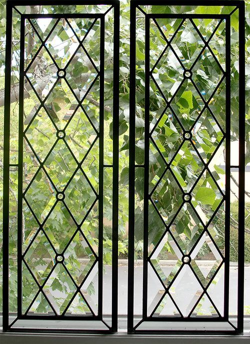 Stunning Leaded Glass Windows Design Ideas 16