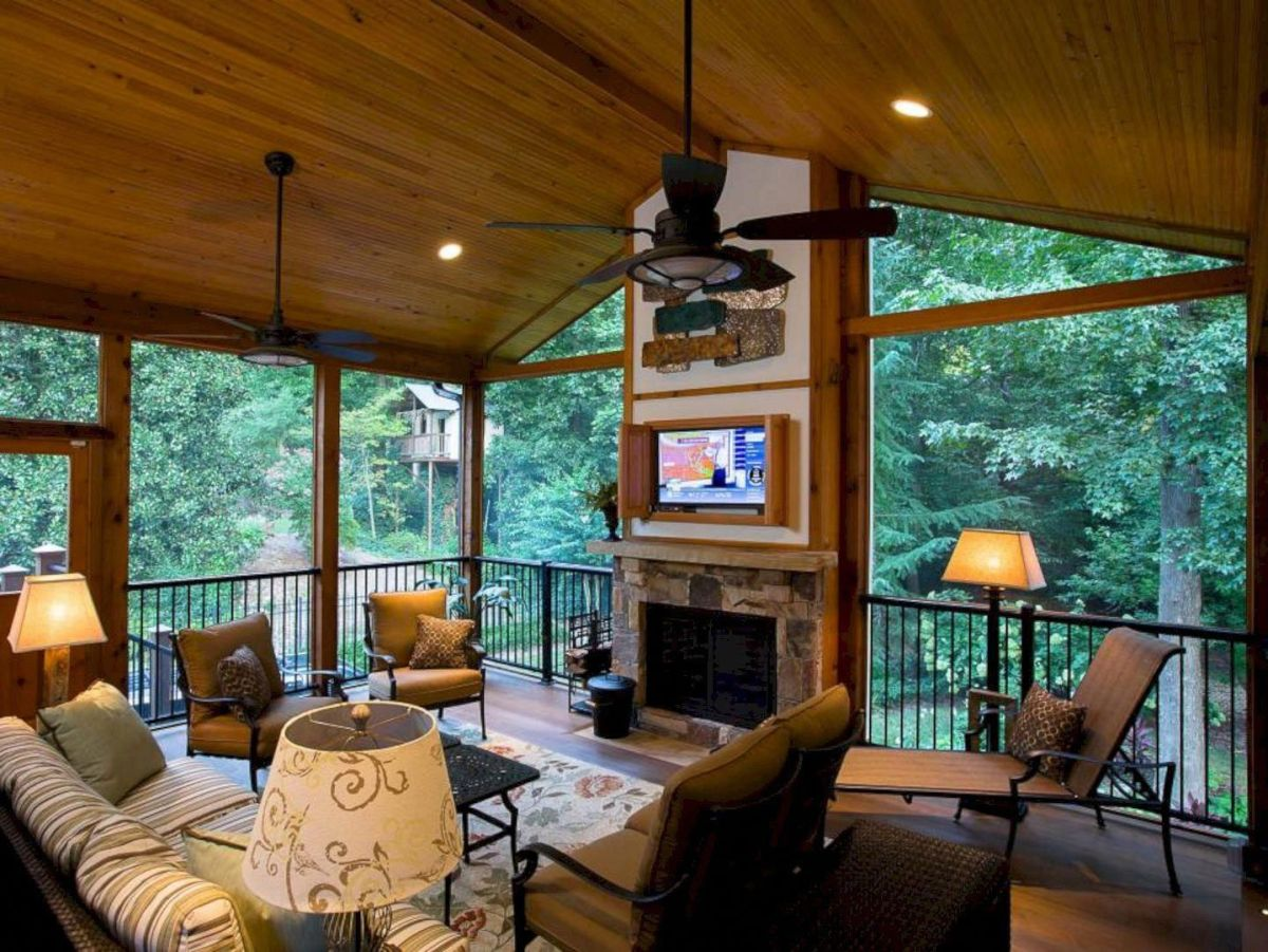 The Best Enclosed Porch Design And Decor Ideas 11