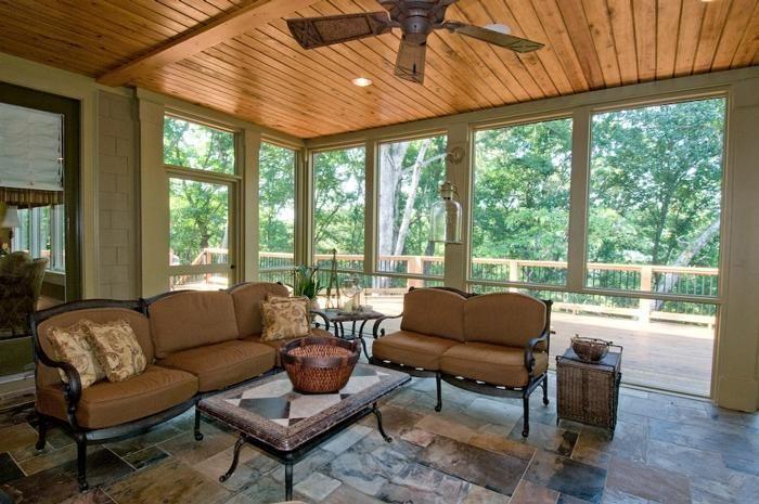 The Best Enclosed Porch Design And Decor Ideas 13